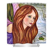 Fairy Shower Curtain