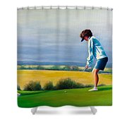 Fairy Golf Mother Shower Curtain