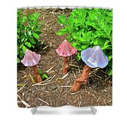 Fairy Houses Shower Curtain