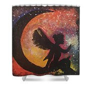 Fairy Life Faith Shower Curtain