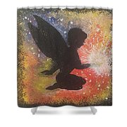 Fairy Life Happiness  Shower Curtain
