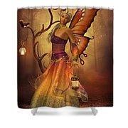 Fairy Lilith Shower Curtain