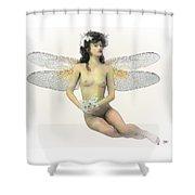Fairy Luck Shower Curtain