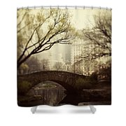 Fairy Of New York Shower Curtain