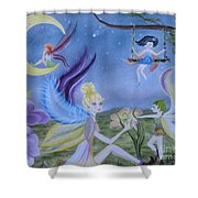 Fairy Play Shower Curtain