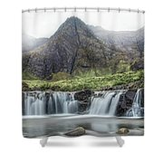 Fairy Pools - Isle Of Skye Shower Curtain