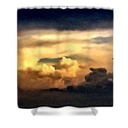 Fairy Tale Sky Shower Curtain