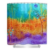 Fairy Tale Woods Shower Curtain