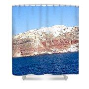 Fairy To Santorinii Shower Curtain