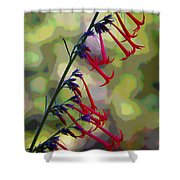 Fairy Trumpet Shower Curtain