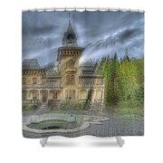 Fairytale Villa - Villa Delle Fiabe Shower Curtain by Enrico Pelos