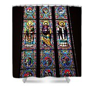 Faith In Stained Glass  Shower Curtain
