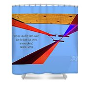 Faith Alone Shower Curtain