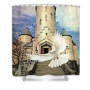 Faith Angel Shower Curtain