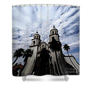 Faith Arizona Shower Curtain