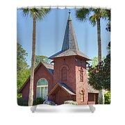 Faith Chapel Shower Curtain