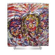 Faith Hope And Love Shower Curtain