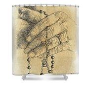 Faith Never Grows Old Shower Curtain