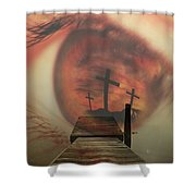 Faith601 Shower Curtain