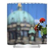 Faithful Flower Shower Curtain