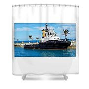 Faithfully Yours, Bermuda Shower Curtain