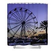 Fajitaville Ferris Wheel 2 Shower Curtain