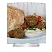 Falafel Balls Shower Curtain