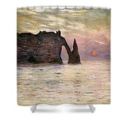 Falaise Detretat Shower Curtain