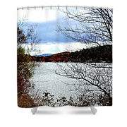 Fall 2015 Newfound Lake 1 Shower Curtain