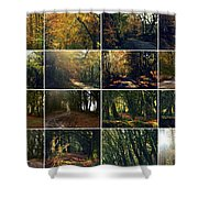 Fall - A Montage Shower Curtain