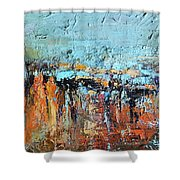 Fall Abstractions Shower Curtain