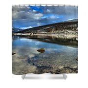 Fall Afternoon At Medicine Lake Shower Curtain
