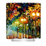 Fall Alley Shower Curtain