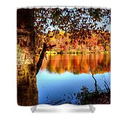 Fall At Lake Shower Curtain