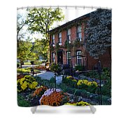 Fall At Lanier Winery In Madison  Shower Curtain