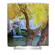Fall At Murray Falls I Shower Curtain