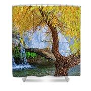 Fall At Murray Falls II Shower Curtain