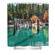Fall At Skunk Harbor Lake Tahoe Shower Curtain