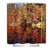 Fall At Table Rock Shower Curtain