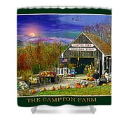 Fall At The Campton Farm Shower Curtain