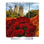 Fall At The Peabody Shower Curtain