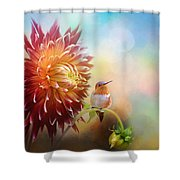Fall Beauty In The Garden Shower Curtain
