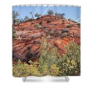 Fall Begins In Zion Shower Curtain