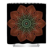 Fall Blossom Zxk-4310-2a Shower Curtain