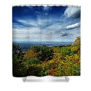 Fall Blue Ridge Parkway Shower Curtain