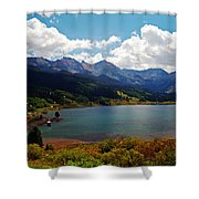 Fall Color At Trout Lake Shower Curtain