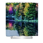 Fall Color Explosion Shower Curtain