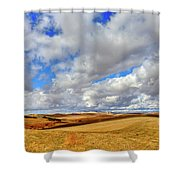 Fall Color On The Palouse Shower Curtain