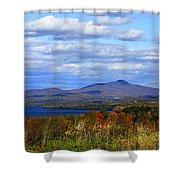Fall Colors At Lake Carmi Shower Curtain