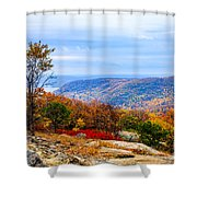 Fall Colors From Bear Mountain Shower Curtain